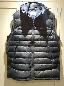 Lacoste Hooded Gillet Jacket