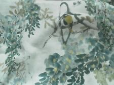 Sanderson Curtain Fabric WISTERIA FALLS 1.75m Mineral -100% Linen Design 175cm