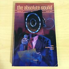 The Absolute Sound Issue Volume 12 Number 46, 1987 TAS Onkyo Linn Ittok Luxman
