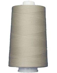 Superior Omni 40 wt Polyester Thread #3004 Cream 6000 yard cone