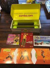 Zumba Fitness Join The Party 4dvds Dumbbells Guide Complete Set.!!
