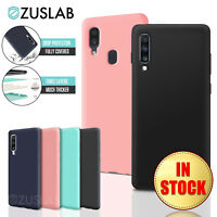 For Samsung Galaxy A70 A50 A30 A20 ZUSLAB Shockproof Soft Silicone Case Cover