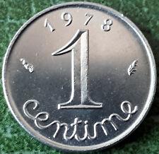 *** 1 CENTIME EPI 1978 *** ISSU DES SACS BANQUE DE FRANCE SPL/FDC