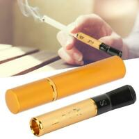 Dual Resin Cigarette Filter Holder Washable Filter Mouthpiece Reduce Tar Smoking