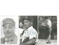 New listing John Kibler National League Baseball Umpire Autographed Rowe Postcard Photo