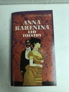 Vintage Paperback Anna Karenina Signet Classic Leo Tolstoy 1961