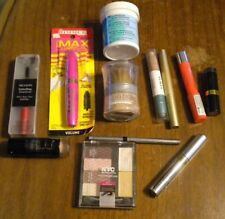 LOT OF 12  ASSORTED MAKE UP-NYC, MAYBELLINE, L'OREAL, RIMMEL, ALMAY & REVLON