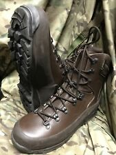 More details for genuine british issue brown cold wet weather iturri boots!worn once!size 11 m