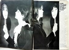 MARIE-HELENE et CATHERINE BREILLAT =>  coupure de presse 3 pages 1976 / CLIPPING