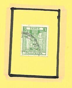 NZ 1936-40 Postal Fiscal £3 Value SG 183 Watermark 43 FU