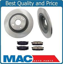 01-05 Mazda Miata MX-5 Sport Suspension (2) 10 3/4 Inch Rear Brake Rotors & Pads