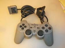 Sony Play Station 1 Gray Dual Shock Controller SCPH-1200