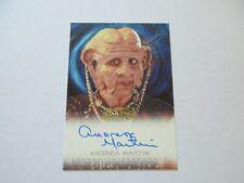 Star Trek DS9 Heroes & Villains Andrea Martin as Ishka Autograph