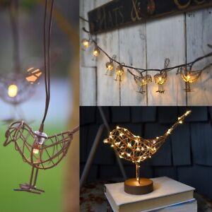 Robin Lights - Table, Solar Garden Light or Fairy Chain