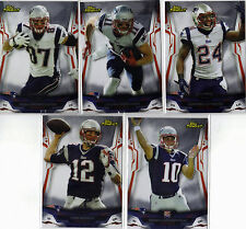 2014 TOPPS FINEST NEW ENGLAND PATRIOTS 8 CARD TEAM SET W/3 INSERTS