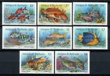 Barbuda 1990 Fische Fishes Poissons Pesci Meerestiere 1220-1227 MNH