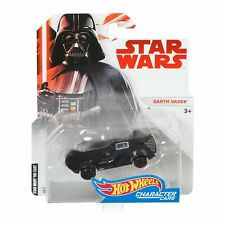 Hot Wheels Mattel Star Wars Collectible Character Car Darth Vader Vehicle NEW