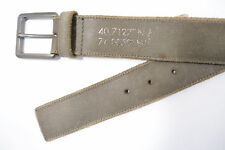CK CALVIN KLEIN 75436 GRAY BROWN 30 LEATHER BELT MENS NWT NEW