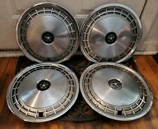 "Set of 4 OEM 1983-85 Dodge Aries Plymouth Reliant K-Car 13"" Hubcaps Wheel Covers"