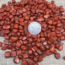 Bulk Natural Red Jasper Gravel polishing  Stone Fish Tank Decoration 5-9mm 11lb