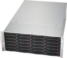 UXS Server 4U 24 Bay Storage Server 24x New 4TB SATA Hard Drives ASR-72405 RAID