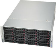 UXS Server FREENAS 11 4U 24 Bay Storage Server 24x New 4TB SATA Hard Drives ZFS