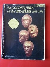 Vintage The Golden Era of THE BEATLES Guitar Tablature Song Book w/ Many Photos