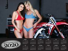 2020 MOTOCROSS GIRLS DIRT BIKE CALENDAR  BRAAAAP! metal mulisha monster energy
