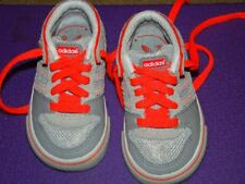 Unisex Adidas Baby Toddler Leather Sneakers Shoes Sz 4