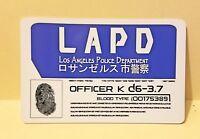 Blade Runner 2049 K's ID prop