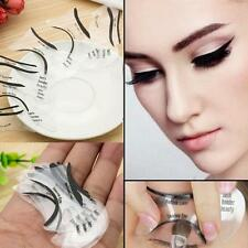 Women Cat Smokey Eye Cosmetic Eyeliner Models Card Stencil Template 10 Design