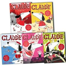 Alex T Smith Claude Series Collection 5 Books Set-Claude in the City,Claude on H