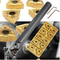S20R-MWLNR08 Lathe Boring Bar Turning Tool Holder +10x WNMG080404 Carbide Insert
