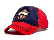 FC CSKA Moscow cap hat. Russian football club. Soccer team. Red Army. Russia.