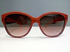 Brand New Givenchy Sunglasses SGV815M 0P91 Caramel Orange 56mm Made in Italy