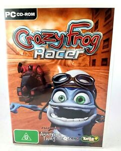 Crazy Frog Racer PC CD-ROM Game Windows 2000 / XP Rated G