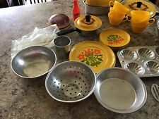 Mixed Lot Of Childs Play Bake Ware/ Dishes/ Cook Ware