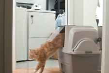 Sifting Cat Litter Pan Self Cleaning Automatic Box Scoop Free Covered Enclosed