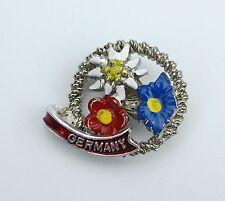 German Hat Pin: Alpine Edelweiss Flowers