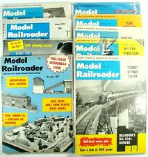 Lot Of 9 Vtg Model Railroader Magazines Mixed Dates 1957 - 1964 Good Condition