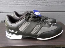 NEW SPARCO Men's Black Racing Athletic Shoe Size 9.5 U.S  EU 44