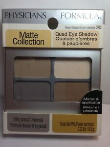 Physicians Formula Quad Eye Shadow Matte Collection, #3882 Canyon Classics