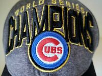 New Era Gray Chicago Cubs 2016 World Series Champions Official On-field Cap OSFM