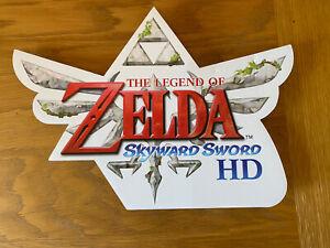 The Legend Of Zelda Skyward Sword Display / Promo