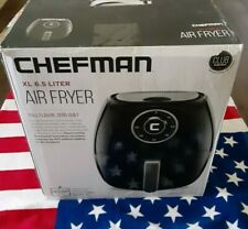 Chefman 6.8 Quart Air Fryer Oven with Space Saving Flat Basket, Oil Free Hot Air