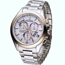 Citizen Eco-Drive Radio Controlled Chronograph Titanium Men's Watch BY0054-57A