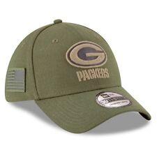 dc743b11862 Green Bay Packers Salute to Service New Era 39THIRTY NFL 2018 Sz M L