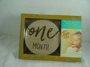 Wooden Monthly Photo Props One Month New sealed