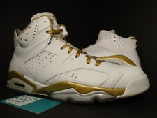 Nike Air Jordan VI 6 Retro GMP GOLDEN MOMENT GOLD MEDAL PACK 384664-135 Sz 11.5
