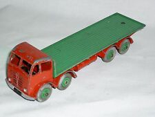 "902  Dinky toys Foden flat back lorry "" play worn """
